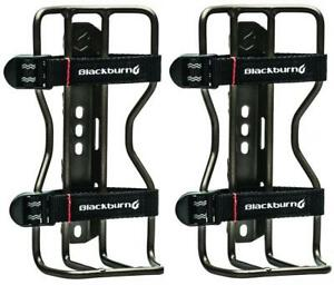 2x Blackburn Outpost Cargo Cage BikePacking Bike Bottle 4kg Max #7056599
