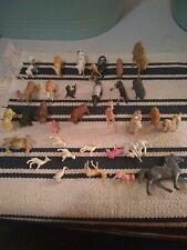 Vintage Plastic Farm Animals Estate Lot of 33