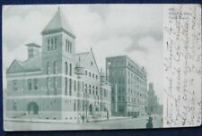US Post Office Cedar Rapids IA 1908 Souvenir Post Card Co 4281 UDB