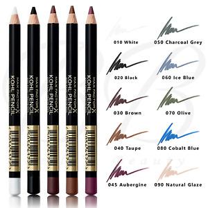 MAX FACTOR Kohl Kajal Eyeliner Smudge Smokey Eyes Soft Liner Pencil *ALL SHADES*