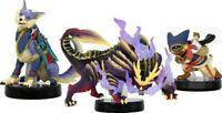 Nintendo Switch Monster Hunter Rise amiibo TM 3 body set NEW Japan