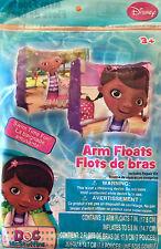 Inflatable Arm Floats Bands Disney Doc McStuffins Girl Age 3+ NEW