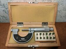 Vis 0 1 Inch Thread Pitch Micrometer With 6 Anvil Sets Made In Poland