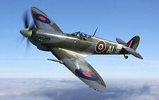 A3 SPITFIRE1 PLANE POSTER ART PRINT BUY2GET1FREE! - AIRFORCE/WAR/FIGHTER