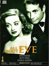 NEW DVD-All About Eve (1950)  Bette Davis, Anne Baxter