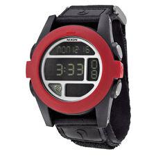 Nixon The Baja All Black / Red Digital Watch A489 760