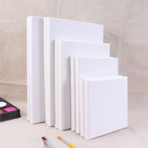 10X Painting Frame Cotton White Stretched Canvas Frame for Drawing Painting DIY