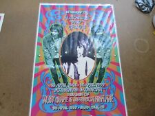IN MEMORY ALEXANDER SKIP SPENCE MOBY GRAPE JEFFERSON AIRPLANE 1999 POSTER