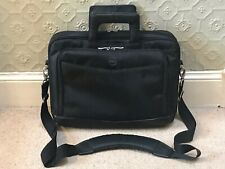 16 INCH DELL SHOULDER LAPTOP CASE BAG WITH 3 MAIN COMPARTMENTS BLACK ONT415