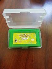 Pokémon: Leaf Green Version (Nintendo Game Boy Advance, 2004)