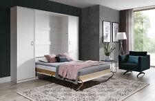XXL Wardrobe Bed Wardrobe Wall Cabinet Beds 90/120/140x200 Closets New