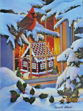 .PUZZLE.....JIGSAW.....COBANE....Gingerbread House.....500pc.....Sealed.
