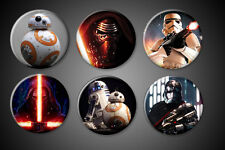 Force Awakens Magnets Kylo Ren BB-8 Storm Trooper Captain Phasma Logo Fridge