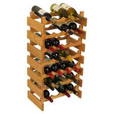 """Wooden Mallet 28 Bottle Dakota Wine Rack WR47LO Wine Rack 17.625"""" x 33"""" x 10.75"""""""