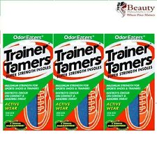 Odor-Eaters Trainer Tamers 3 Pairs