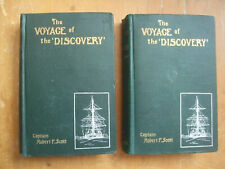The Voyage of Discovery - Captain Robert F. Scott - 1905 First Canadian Edition