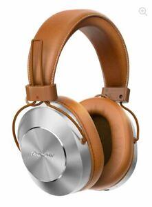 Pioneer SE-MS7BT Over-Ear Bluetooth NFC Headphones - Tan - RRP $199.95