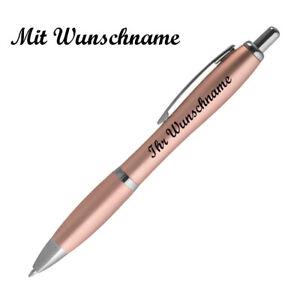Kugelschreiber mit Namensgravur - Metallic-Farbe - Farbe: metallic rose'