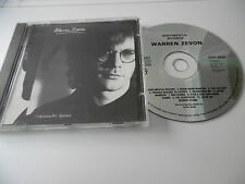 WARREN ZEVON SENTIMENTAL HYGIENE CD ALBUM 10 TRACKS VIRGIN AMERICA CDV2433 1987