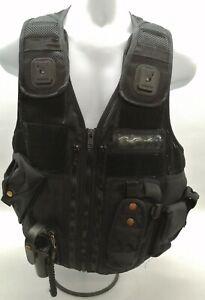 Genuine Ex Police Arktis Utility Tactical Equipment Carrier Black Vest Security