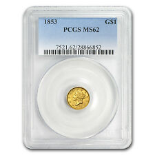 $1 Liberty Head Gold Type 1 MS-62 NGC/PCGS - SKU #22173