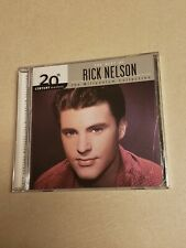 20th Century Masters: The Millennium Collection: by Rick Nelson (CD,...