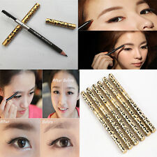 Double-head With Eyebrow Brush Sweatproof Brown High-Grade Aluminum Tube