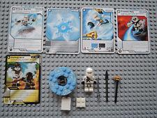 LEGO Ninjago  2113 Zane kpl.  +  5 Original Trading Cards Spielkarten TOP