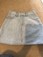 Girls Denim H & M Skirt Size Uk 6