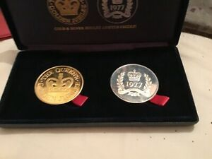 Extremely Rare 1979 - 2002 Silver Jubilee and Golden Jubilee Silver Proof Coins