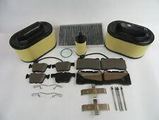Maserati Ghibli front rear brake pads air cabin oil filter 509