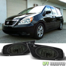 For Smoke 08-10 Honda Odyssey Bumper Driving Fog Lights Lamp w/Switch Left+Right