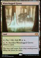 Waterlogged Grove FOIL | NM/M | Modern Horizons | Magic MTG