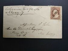 Pennsylvania: Colerain Forge 1850s #26 Cover, Ms, Dpo Huntingdon Co