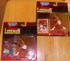 Muhammad Ali + Sugar Ray Leonard Starting Lineup Figures Collectible Memorabilia
