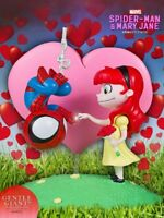 Gentle Giant Marvel Animated Series Spider-Man and Mary Jane Statue New In Stock