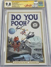 Do You Pooh #1 Fantastic Four 13 Homage Autograph Signed Stan Lee CGC 9.8 SS MCU