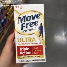 Sealed Schiff Move Free Ultra Triple Action, 75 Tablets. Joints Health