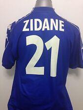 1999-00 Juventus Zidane #21 3rd Jersey Size XL (Bordaux, Real Madrid)