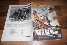 SOLDATENGESCHICHTEN  # 63 / 1959 -- DUELL in der NACHT // brit. Panzerüberfall