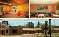 Yorke Motel & Restaurant US 1 Lyons Ga Dexter R E Drew