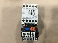 MITSUBISHI SD-A11 MAGNETIC CONTACTOR W// TH-12 RESET