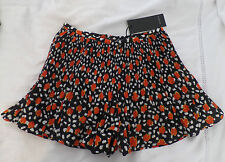 Brand New Alice in the Eve Floral Vintage style Pleated Mini Shorts Skort