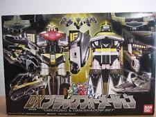 Power Rangers Timeranger Time Force DX TimeRobo & Time Shadow Black Megazord Set