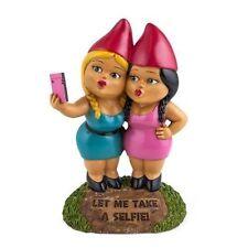 Bigmouth Inc Selfie Sisters Garden Gnome