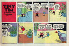 Tiny Tim by Stanley Link - Adventure - color Sunday comic page - April 14, 1957