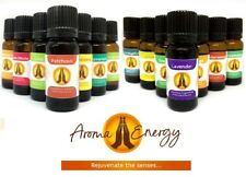 AROMA ENERGY - NATURAL PURE 10ML ESSENTIAL OILS - AROMATHERAPY FRAGRANCE