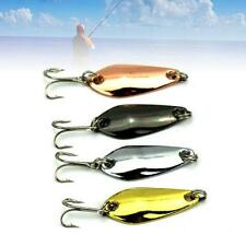 Good Hook Fishing Tackle Top Bass Spinner Bait Spoon Metal Lure Fishing Bait TL