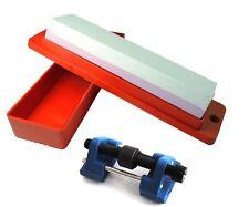 Pietra AD OLIO, box & guida per levigatura Scalpello Piano Lama KIT AFFILATURA lavorazione del legno W3334