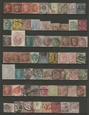 GREAT BRITAIN  QUEEN VICTORIA FINE  USED COLLECTION WITH HIGH CATALOGUE VALUE